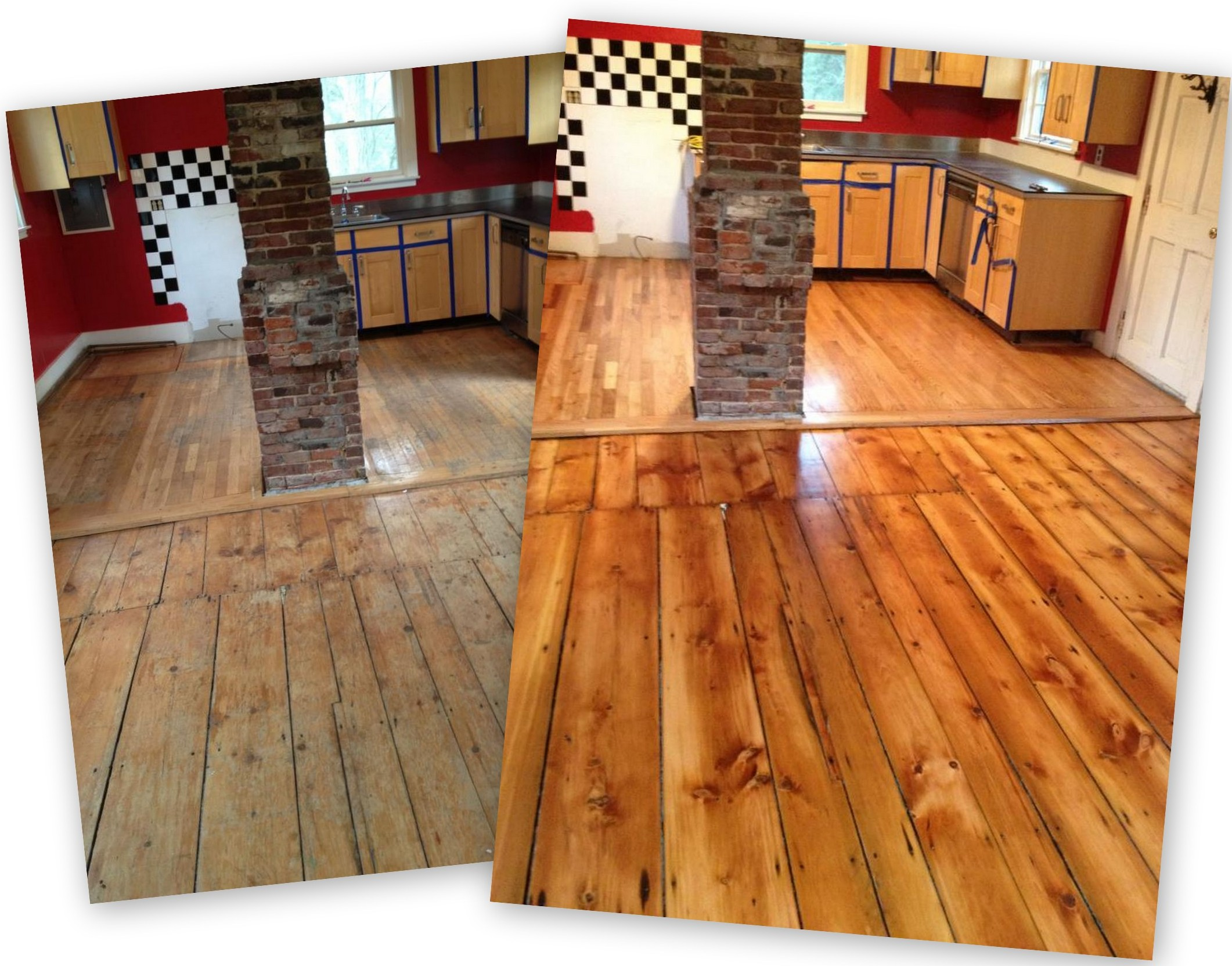New And Refinished Floors By Olde Towne Floors Wellfleet MA - Hardwood floor refinishing cape cod ma